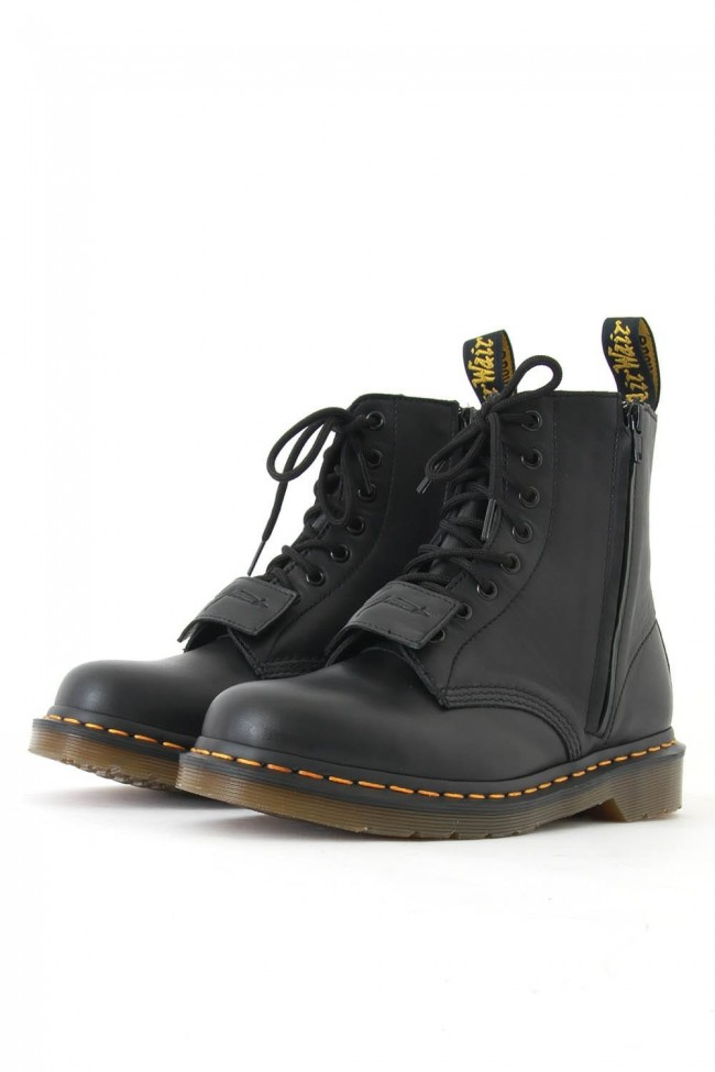 8 Hole Side Zip Boots