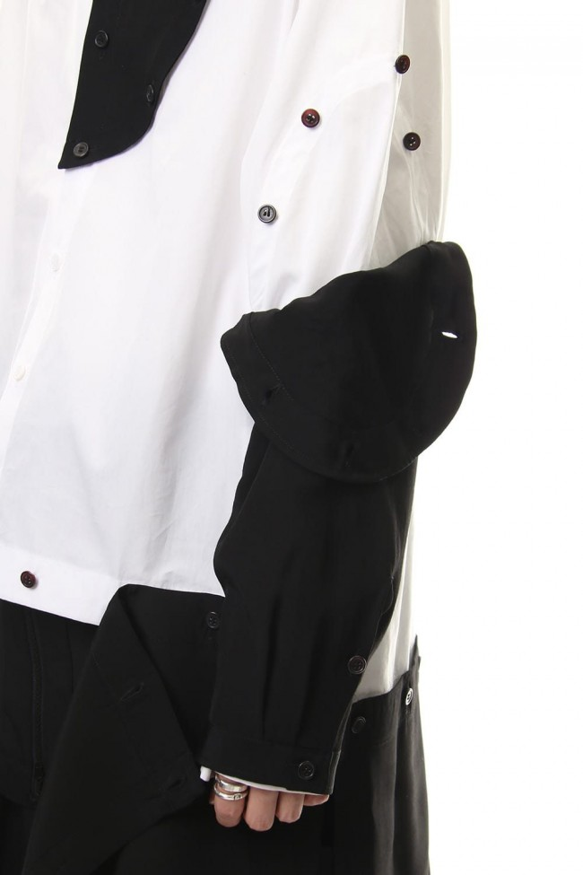 Front Detachable Button Shirt