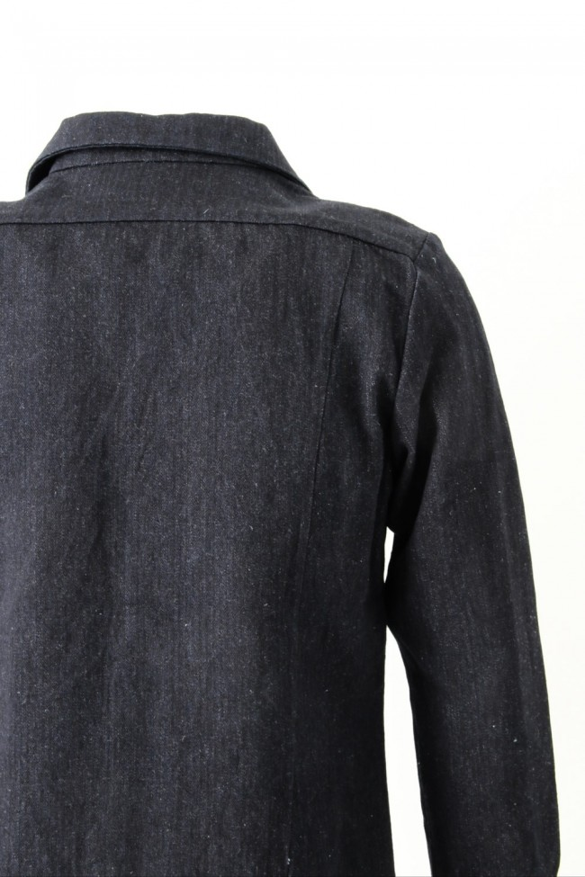 Shirt SH31 Cotton Linen Herringbone Denim - individual sentiments