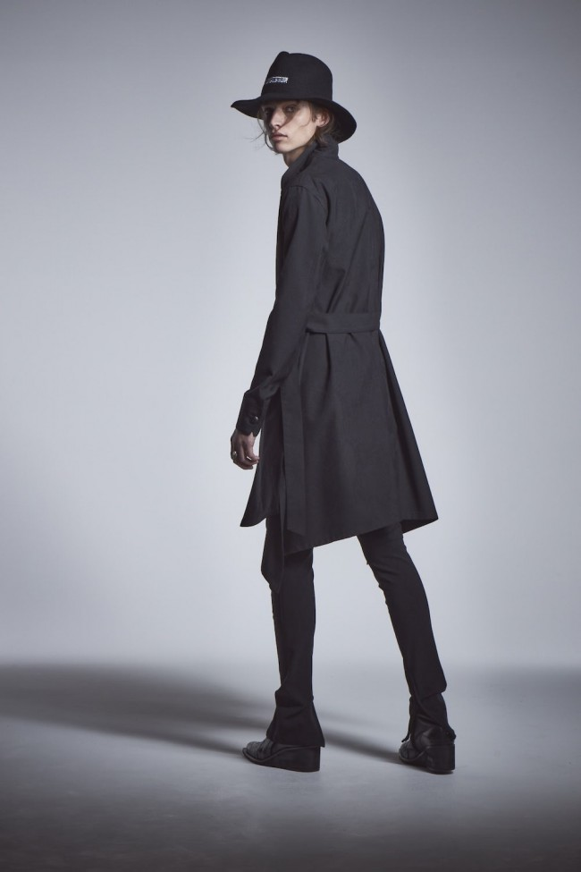 Flaer Long Blouson Black × Black