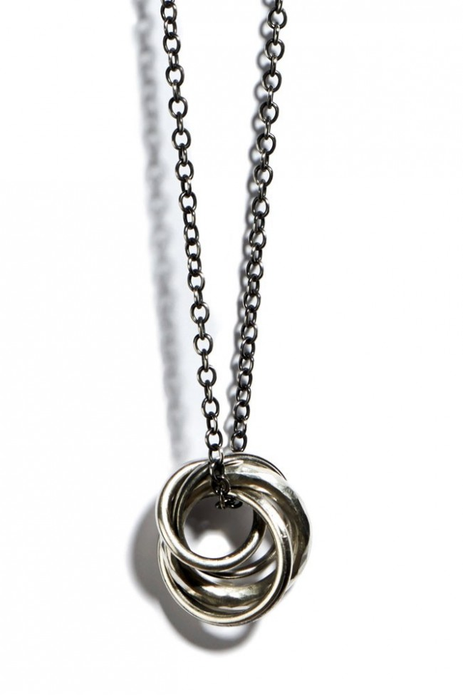 Necklace Four Rings