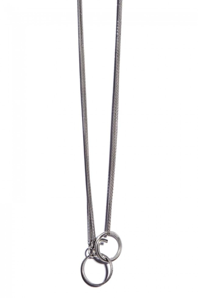 Fine Chain Spring Ring