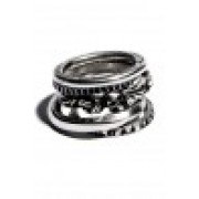 5 Ring Combination-Silver-S