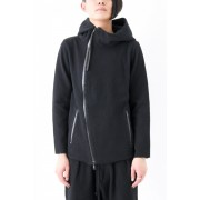 17SS ZIP-UP HODDY  -The R CUSTOM ORDER--BLACK-1