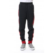 Combined Track Pants-Black-44