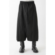 "17SS ""GIN"" loose fit twisted trousers-BLACK-M"
