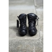 8holes Horse Leather All Black (GUIDI)-BLACK×BLACK-UK7(25.5cm)