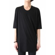 17SS Ly/C 36G Jersey Stitch Mercerization Bio BLACK