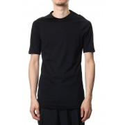 Short sleeve Indian cotton jersey ( SUVIN ) - Black-Black-1