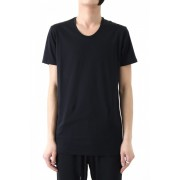 17SS 60/1 Bio Mercerization Smooth Round Tail Cut-Sew BLACK