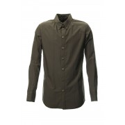 Shirts Cotton hard Wash-Brown Gray-1