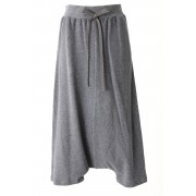 Sweat Super Sarouel Pants - AL-1386-Gray-2