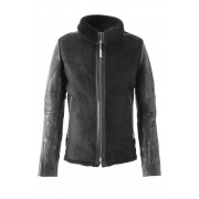 Mouton Jacket ALARMANT-Black-S