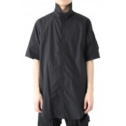 TACTICAL HIGH NECK SHIRT - JULIUS-Black-1