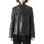 Exclusive Mouton jacket (Wax coating)-Black-1