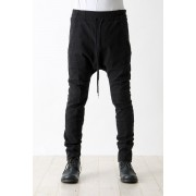 10/- Sarourel Easy Pants-Black-1