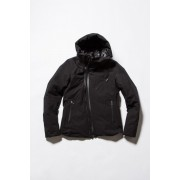 Cotton Nylon Down Jacket -Black-1