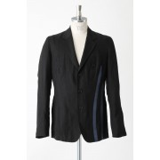 Stripe Jacket-Black-2