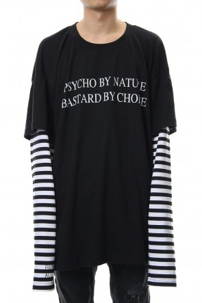 CAVIALE 18-19AW Layered T-shirt