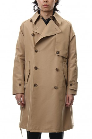 FACTOTUM 18-19AW WOOL LIKE BURBERRY TRENCH COAT