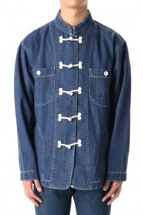 FACTOTUM 20SS Organic Denim China Jacket