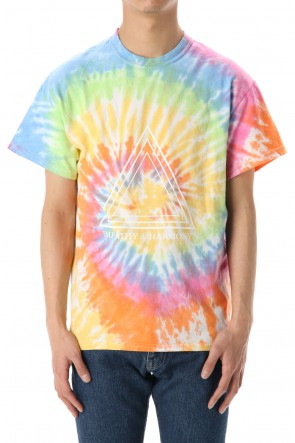 "FACTOTUM 20SS Tie dye S/S-T-Shirts ""TRIANGLE"" - Mix"