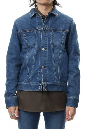 FACTOTUM 18-19AW E Denim Processing G jacket - indigo