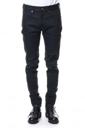 FACTOTUM 20SS Rigid denim (skinny)-black