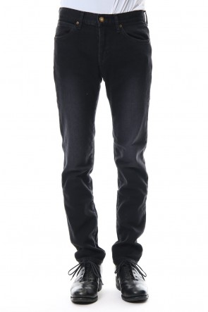 "FACTOTUM 20SS E denim tapered pants ""Jack"" - black"