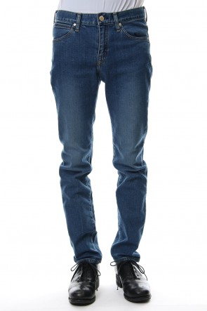 "FACTOTUM 20SS E denim tapered pants ""Jack"" - indigo"