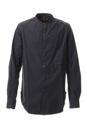 ZIGGY CHEN 17-18AW Stand Collar Shirt