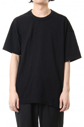 ZIGGY CHEN 19SS Asymmetry Shot sleeve T-shirts 0M191 0206