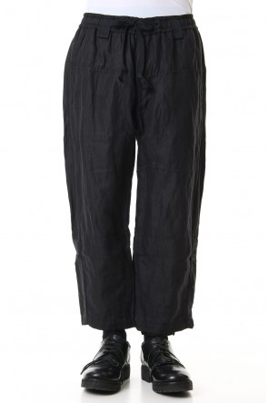 ZIGGY CHEN 19SS Hem layered Cropped pants 0M191 0506