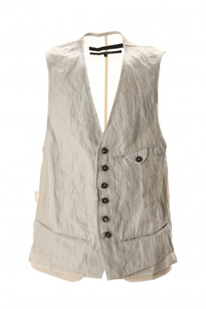 ZIGGY CHEN 20SS Cotton Metal Vest