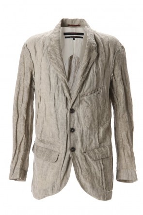 ZIGGY CHEN 20SS Cotton Metal Unconstruction Jacket