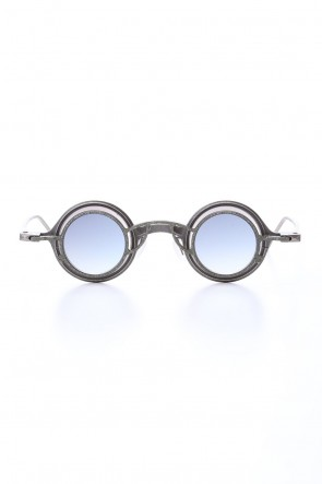 ZIGGY CHEN 20SS ZIGGY CHEN x RIGARDS Sterling Silver Frame Round sunglasses