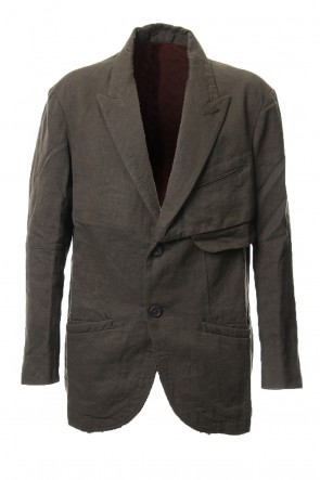 ZIGGY CHEN 18-19AW Over Sized Peaked Lapel Jacket