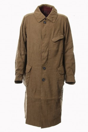 ZIGGY CHEN 18-19AW Linen Silk Coat
