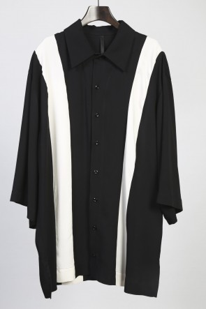 60S レーヨンツイル OVER SIZE STRIPE SHIRTS