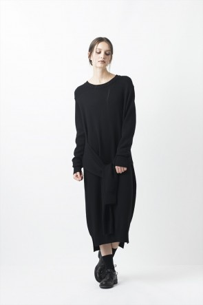 AF ARTEFACT 16-17AW Knit One-piece Dress - AL-1252