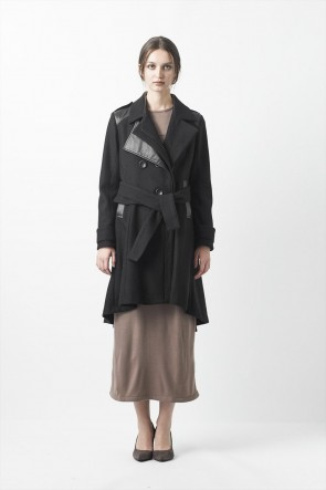 AF ARTEFACT16-17AWHooded Trench Coat - ag-1017-1