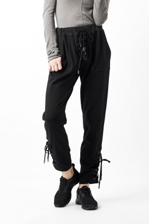 Braid Pants Fleechy Knit