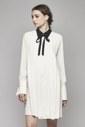 Lambert Crepe De Chine Long Shirt