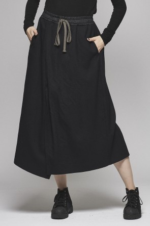 Layered Long Wide Pants AL-1480