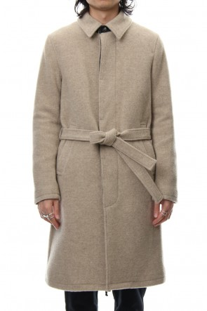 wjk 18-19AW Belted Balloon Coat - Beige