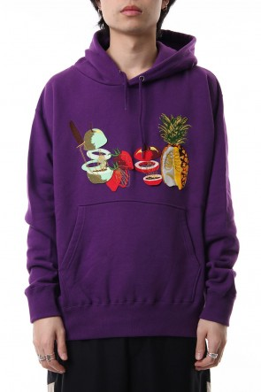 amok 19SS FRUITS BONE PARKA - 19011031 - Purple