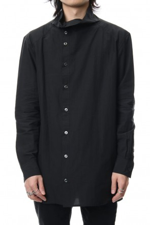DIET BUTCHER SLIM SKIN 19SS High neck long shirt