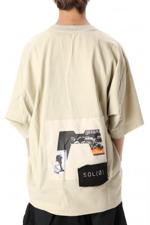 HAMCUS 20SS COLLAGE PRINTED T-SHIRTS