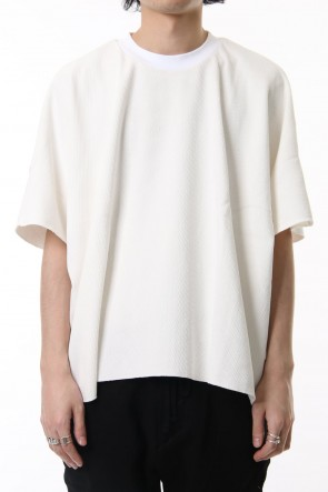 CLANE HOMME19SSTHERMAL OVERSIZE T/S White