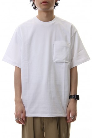 CLANE HOMME 19SS POCKET T/S White